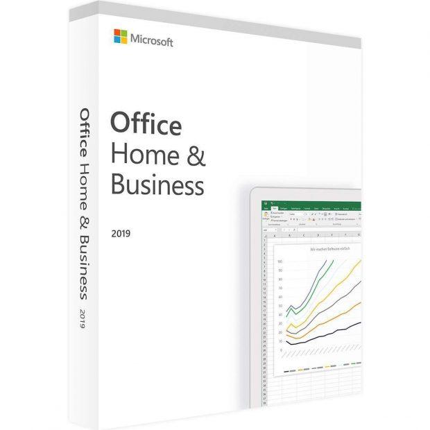 مايكروسوفت اوفيس 2019 المنزل و الأعمال لنظام ماك أصلي